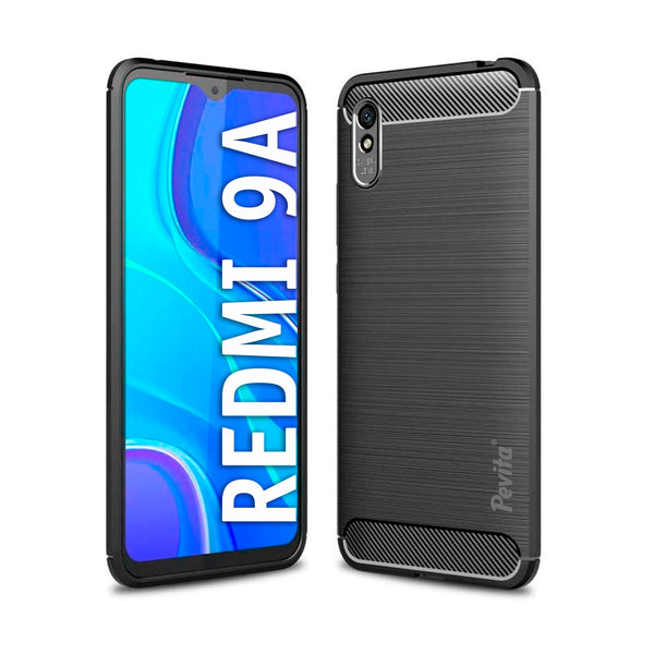 Funda Móvil Pevita | Xiaomi Redmi 9A | TPU - Flexible - Carbono