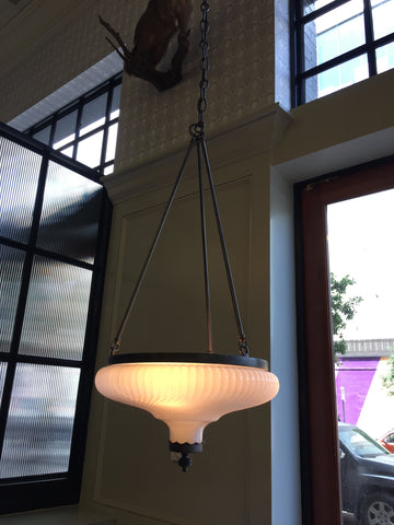 Art Deco Pendant Lighting for Billy Can Can