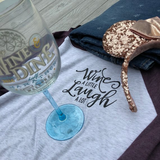 Winederlust Baseball Style Shirt Disney Food and Wine