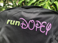 Unisex Dopey Challenge, Run Disney, Champion Jacket, Run Disney, 5k, 10k, 1/2 marathon, Full Marathon, Custom,Personalizable,Runner