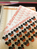 runDisney Marathon Training Stickers