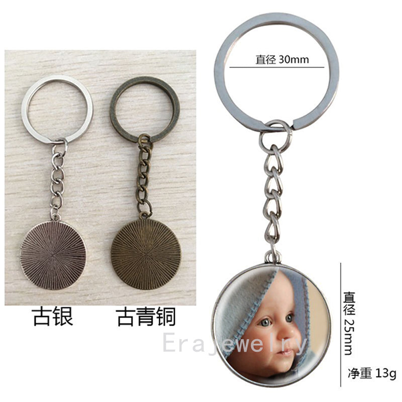 Personalized Photo key chains