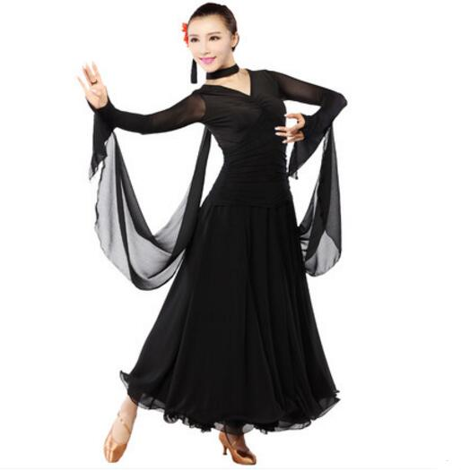 Women Ballroom Dance Dress Waltz Dance