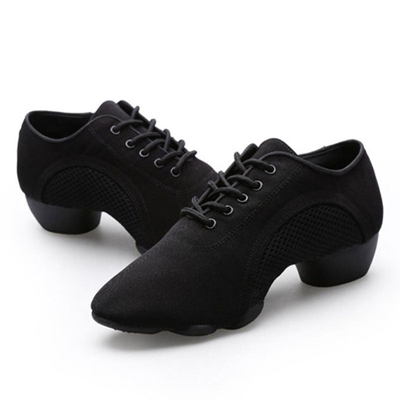 Neutral Oxford Cloth Shoes Latin Teacher Dance Shoes