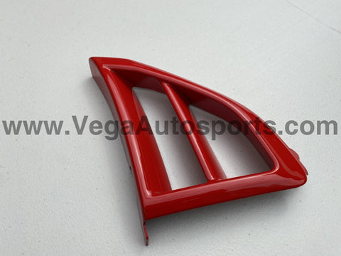 Driver Side Bumper Vent (Red) to suit Mitsubishi Lancer Evolution 6.5 TME CP9A - Vega Autosports