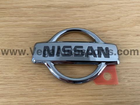 "Emblem ""Nissan"" (Boot Lid) to suit Nissan Skyline R34 GTR Early Model (01/1999 - 08/2000) - Vega Autosports"