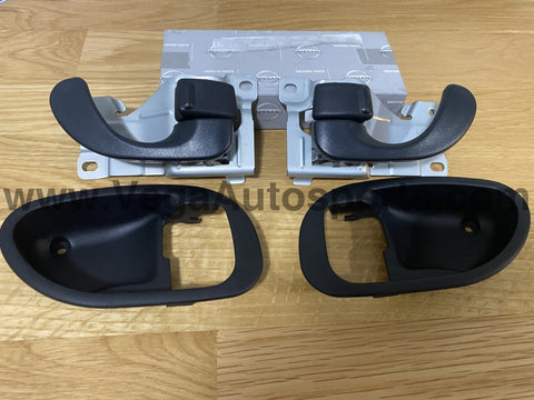 Front Door Handle Set, Interior (4-piece) to suit Mitsubishi Lancer Evolution 4 / 5 / 6 / 6.5 CN9A CP9A - Vega Autosports