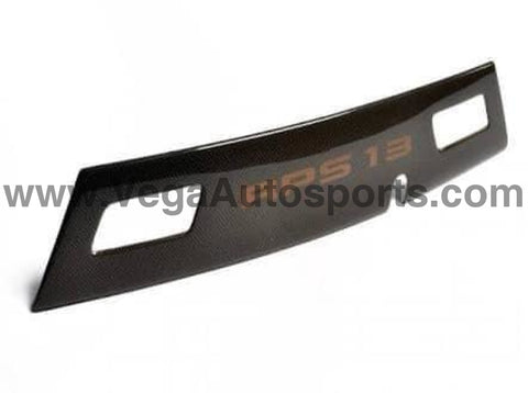Genuine Nissan JDM Carbon Fibre Centre Rear Garnish - Nissan RPS13 180SX - Vega Autosports