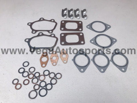 Genuine Nissan Turbocharger Gasket Kit to suit Nissan Skyline R32 GTR, R33 GTR & R34 GTR (RB26DETT, Inc Garrett & HKS Set-Ups) - Vega Autosports