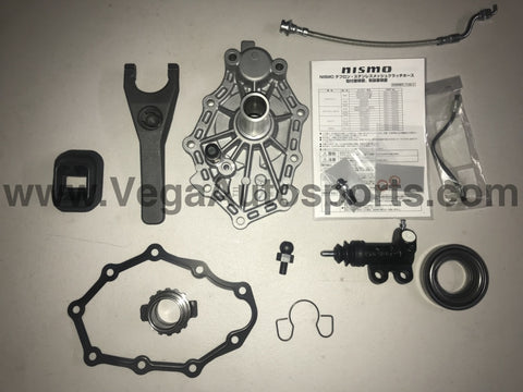 Heavy Duty Pull to Push Conversion Kit to suit R32 GTR / R33 GTR / Z32 and RB25 Gearbox - Vega Autosports