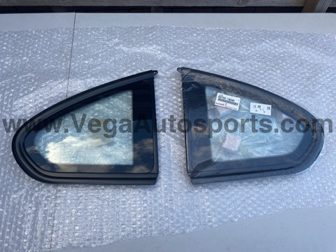Left & Right Side Quarter Window Glass Set to suit Toyota Supra Mk4 1993-1998 - Vega Autosports