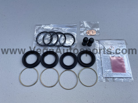 Rear Brake Caliper Overhaul Kit to suit Toyota Supra JZA80 MK4 - Vega Autosports
