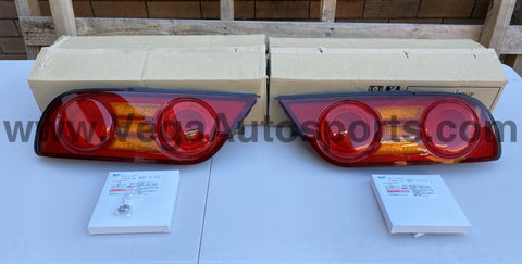 Rear Tail Light Set (RHS and LHS) to Suit Nissan 180SX Type X - Vega Autosports
