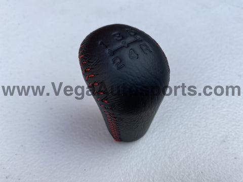 Shift Knob (Red Stitching) to suit Mitsubishi Lancer Evolution 5 / 6 / 6.5 TME CP9A - Vega Autosports