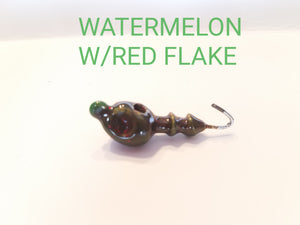 Weedless Midwest Finesse Jig Head 1/0 Hook