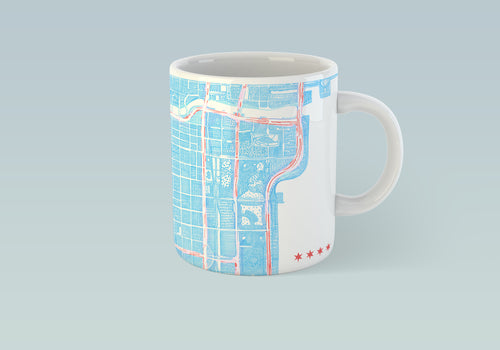 The city of Chicago Mug