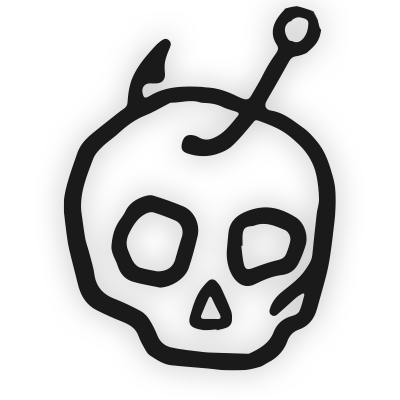 Skull Hook Badfish Logo