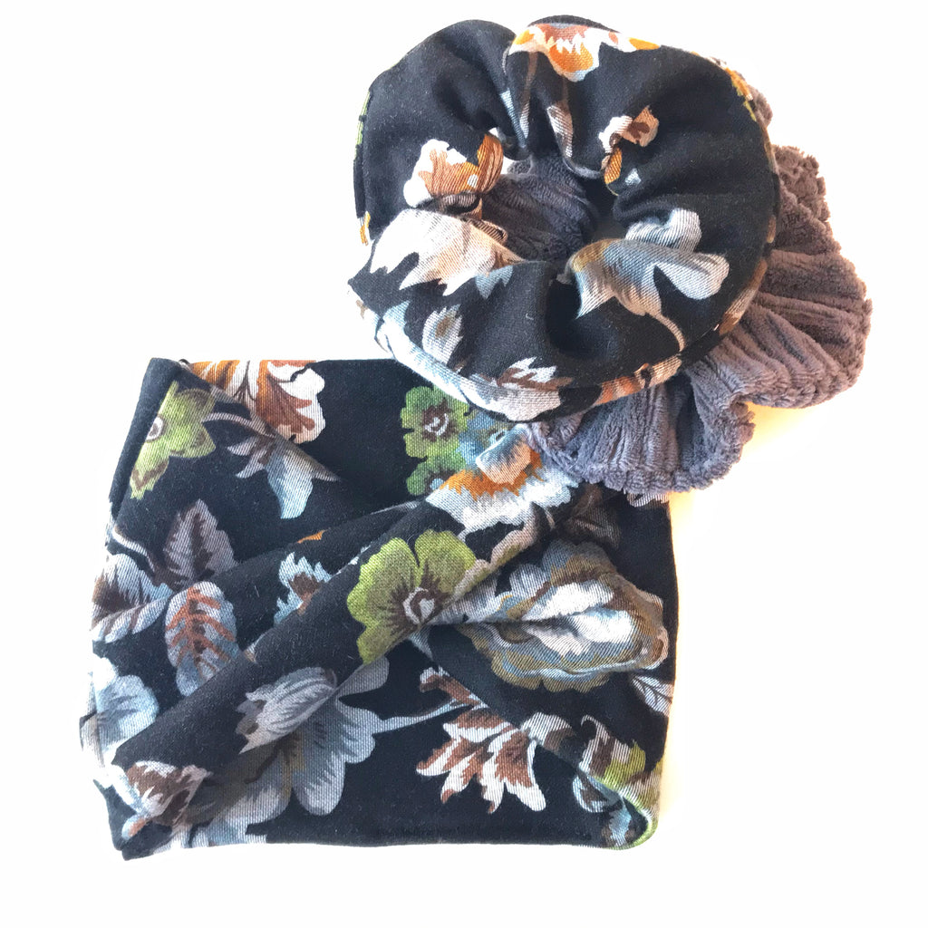 The Cameron Infinity Scarf - Floral