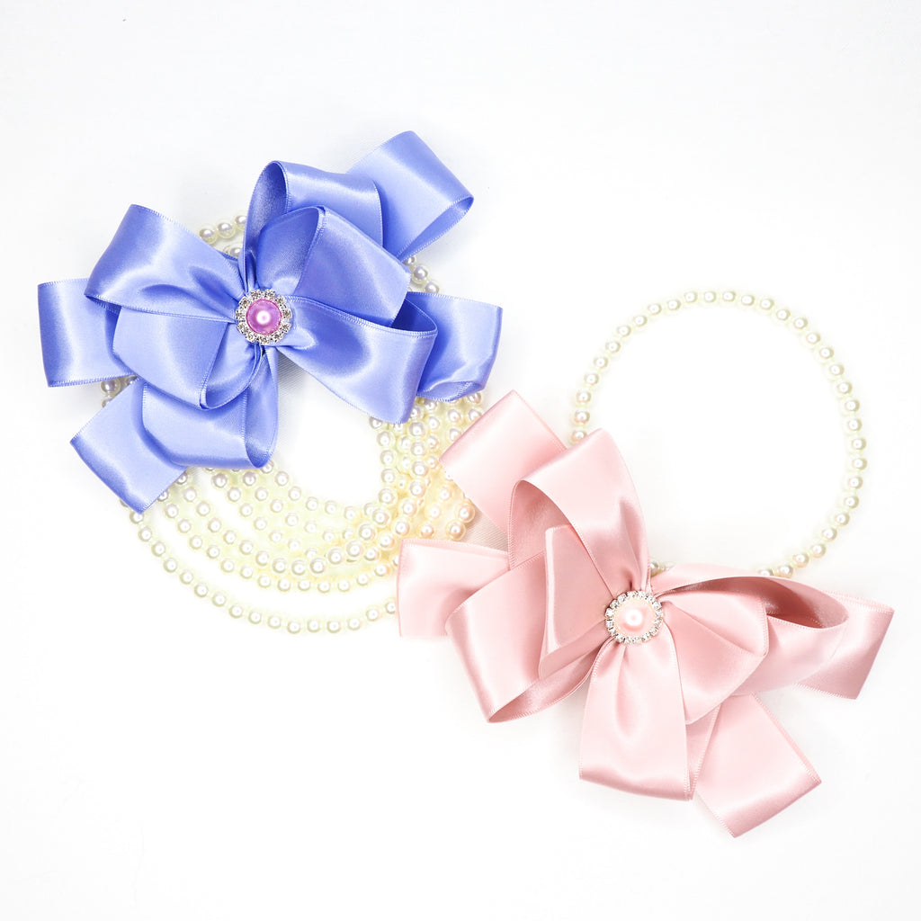 Pearl Ribbon - Rose