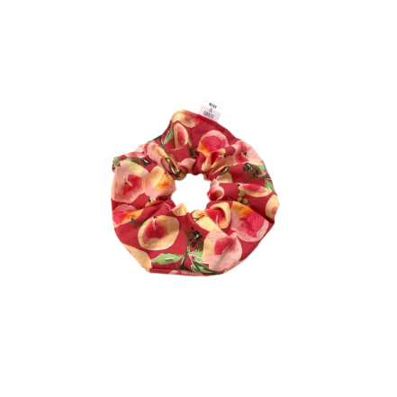 Peach Gardens Scrunchie