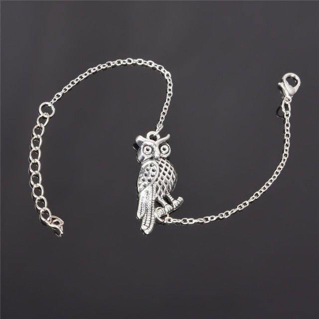 Owl/Heart/Wing/Birds/Leaf Metal Bracelet