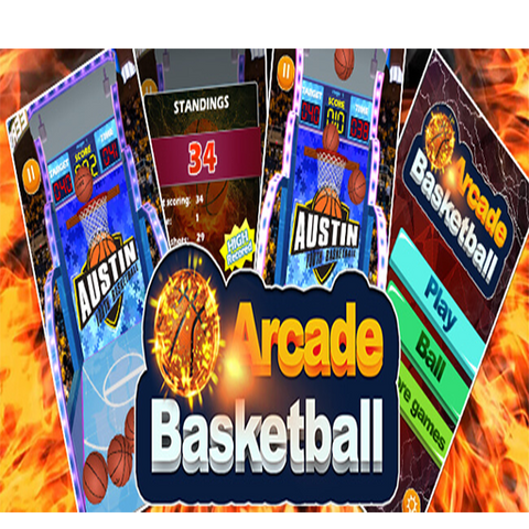 Arcade Basketball complete game
