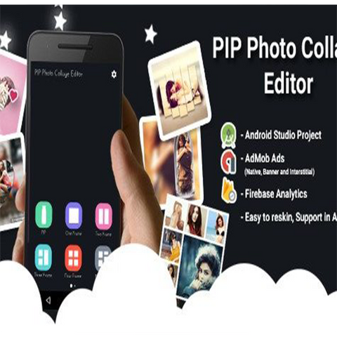 Shape Photo Editor + Photo Shape With Admob Interstitial , Banner and Native ads