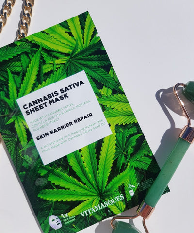 Cannabis Sativa Sheet Mask