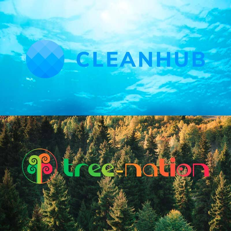 Vitamasques x Cleanhub x Tree-Nation Partnerships for more sustainable skincare