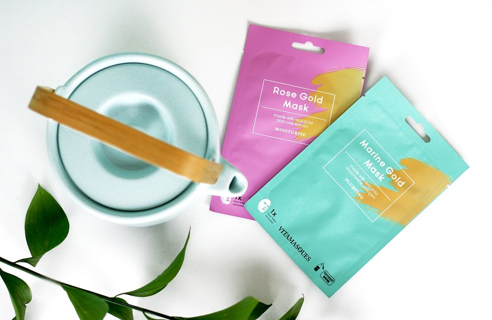 Vitamasques Gold Sheet Mask Collection
