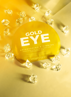 Gold Eye Pads