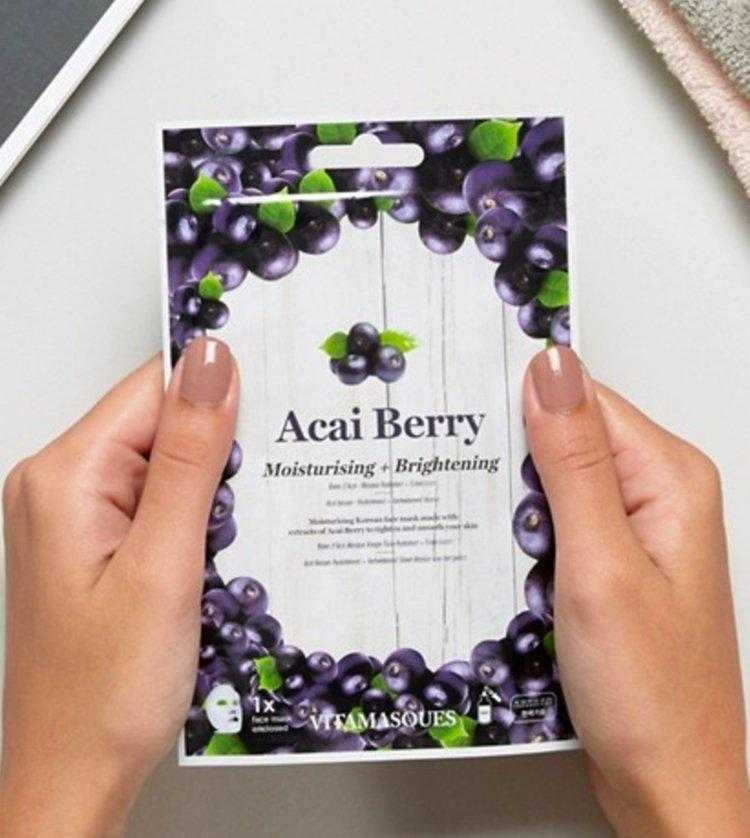 Acai Berry Sheet Face Mask | Vitamasques