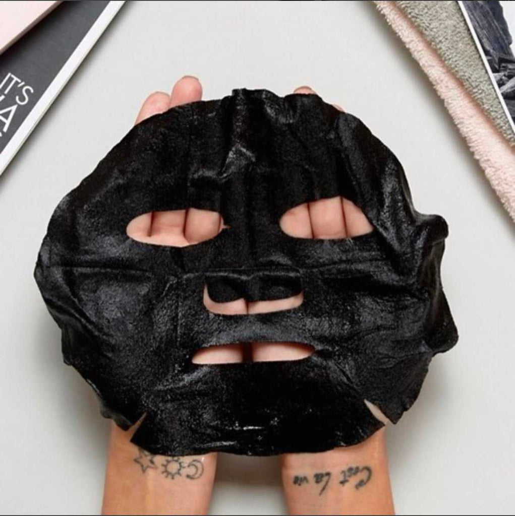 Bamboo Charcoal Sheet Face Mask