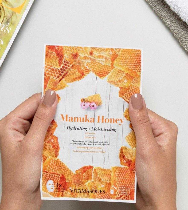 Manuka Honey Sheet Face Mask | Vitamasques
