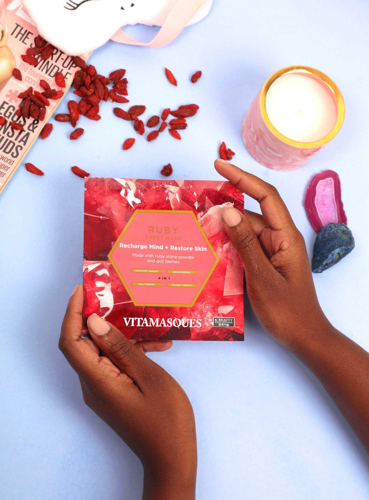 Ruby Sheet Mask | Vitamasques