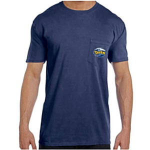 Men's Short Sleeve Navy Pocket Tee