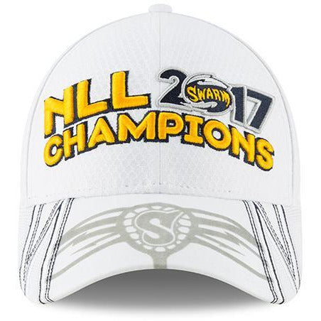White NLL Champions New Era 9Forty White NLL Cap