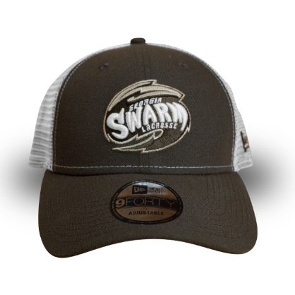 New Era 9Forty Brown Trucker Cap