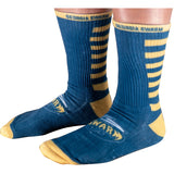 Navy Swarm Socks