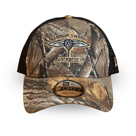 New Era 9Forty Camo Trucker Cap