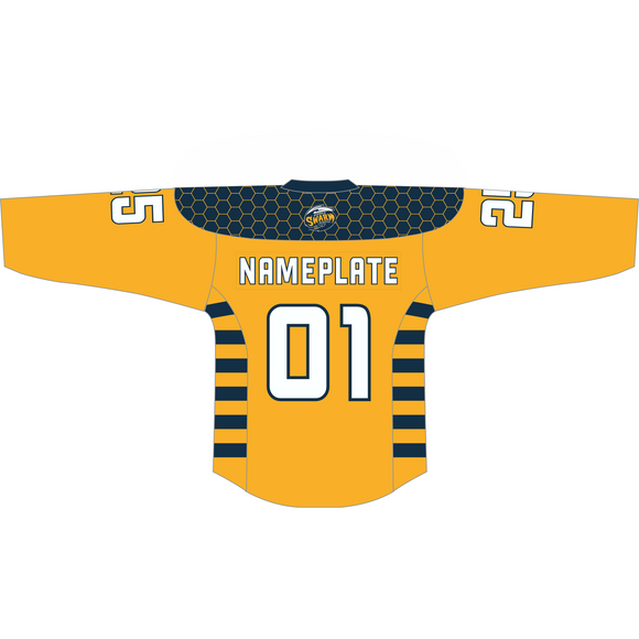 Youth Georgia Swarm Custom Yellow Jersey