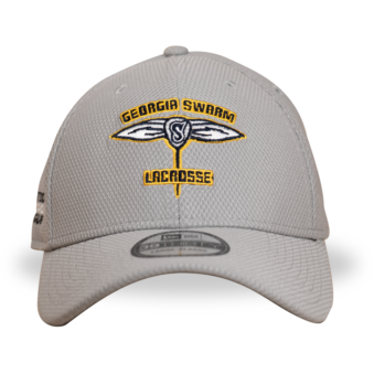 Swarm Gray Stinger New Era 39Thirty Fitted Cap