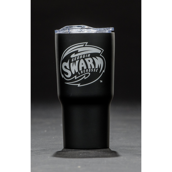 Stainless Steel Travel Tumbler (Black)