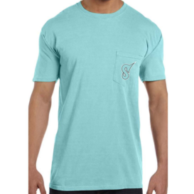 Short Sleeve Mint Pocket Tee