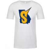 GA State Crew Tee Next Level Men's CVC