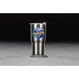20 oz. Stainless Steel Travel Tumbler (Silver)