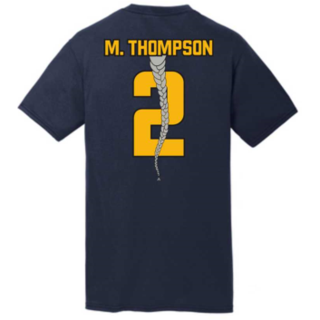 Short Sleeve M. Thompson Braid Tee