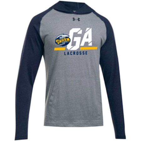 UA Men's Navy/Grey Stadium Hoodie
