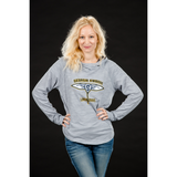 UA Women's Stadium Grey Long Sleeve Hoodie