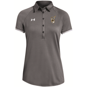 UA Women's Gray Tech Polo